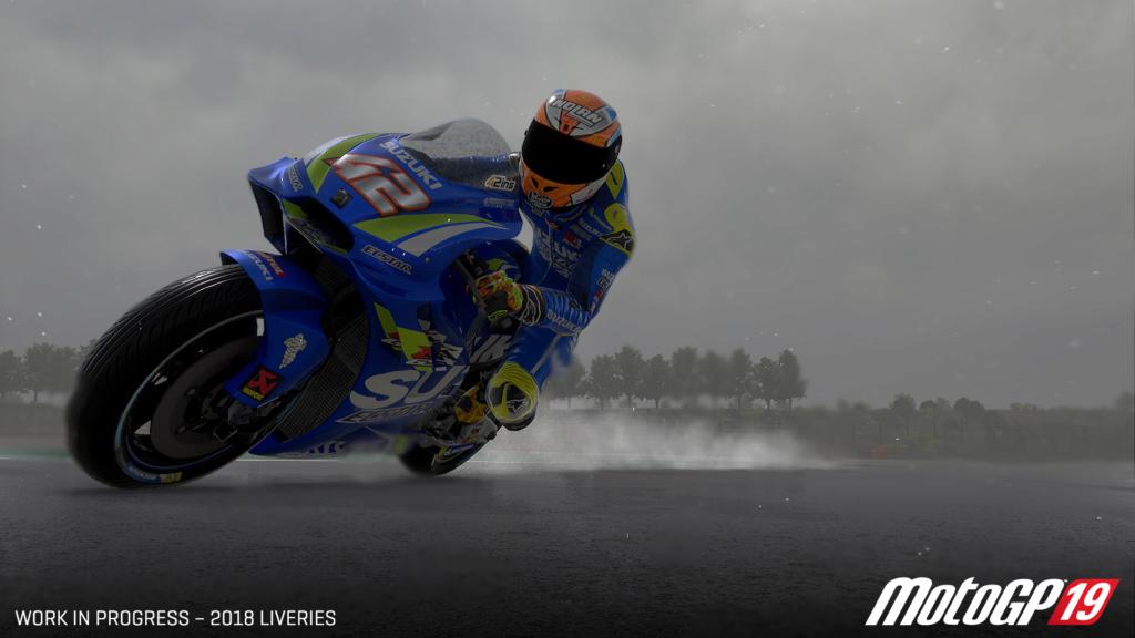 MotoGP19, le jeu Motogp10