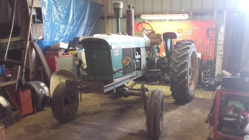 Tracteur John Deere 3020 20160212