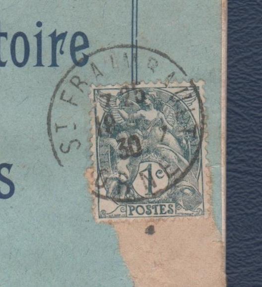 1c type Blanc 1900-1924 06013