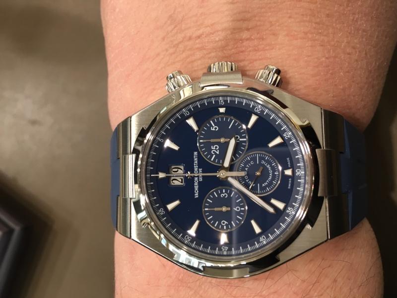 vacheron - Rolex 116518 ou Vacheron  overseas chronographe 49150 ? Image12