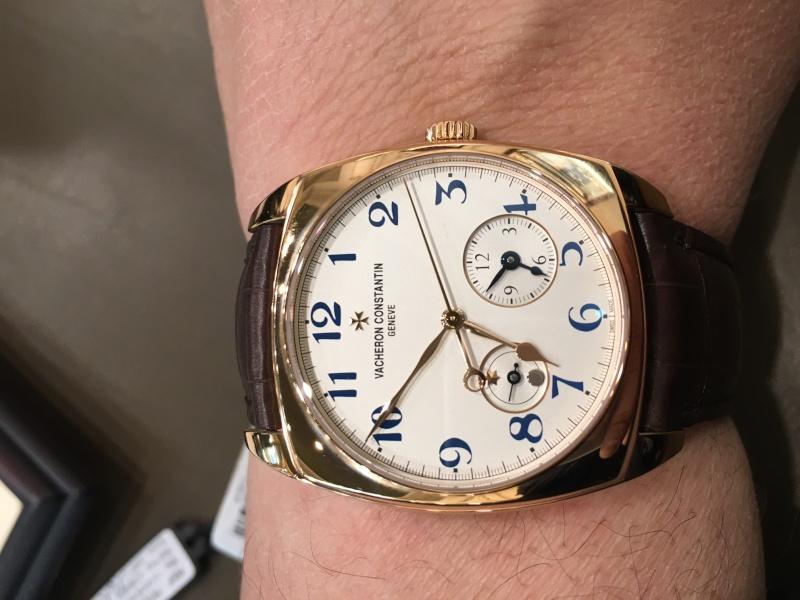 vacheron - Rolex 116518 ou Vacheron  overseas chronographe 49150 ? Image14