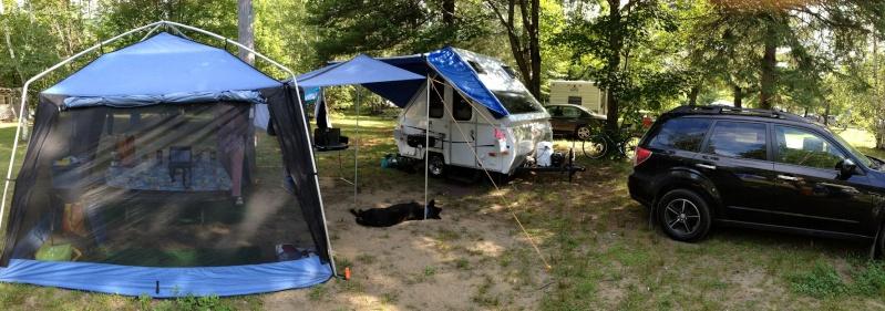 Camping Lac aux Bouleaux (Centre-du-Québec) Img_1010