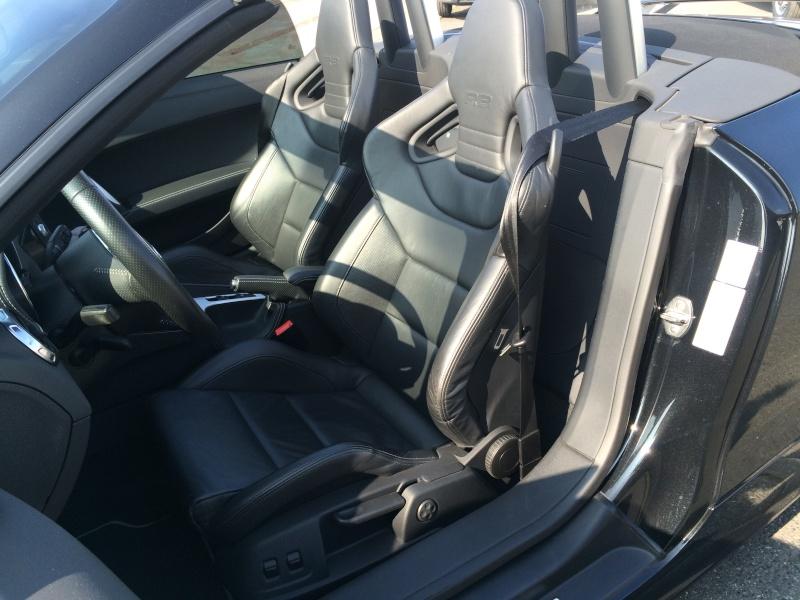 Il est arrivé............ Mon nouveau TTRS Roadster  - Page 2 01110