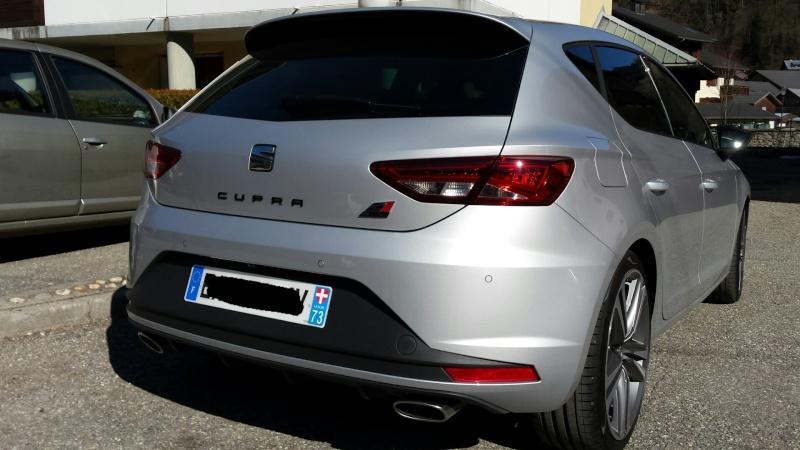 Seat Léon Cupra 5p - DSG6- tsi 290 gris étoile - Page 3 20160312