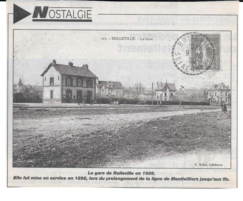 Histoire des communes - Rolleville 1010
