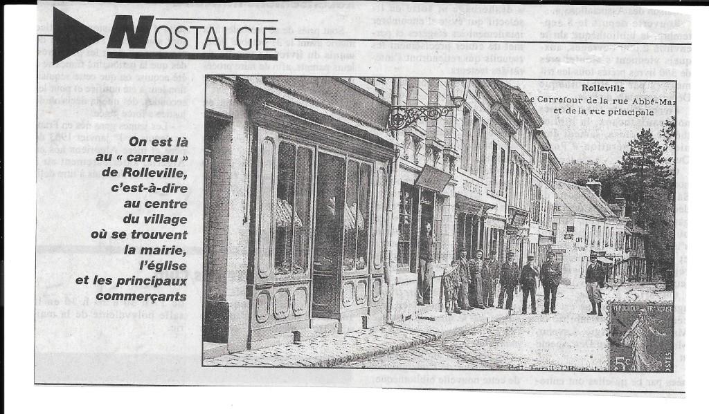 Histoire des communes - Rolleville 1110