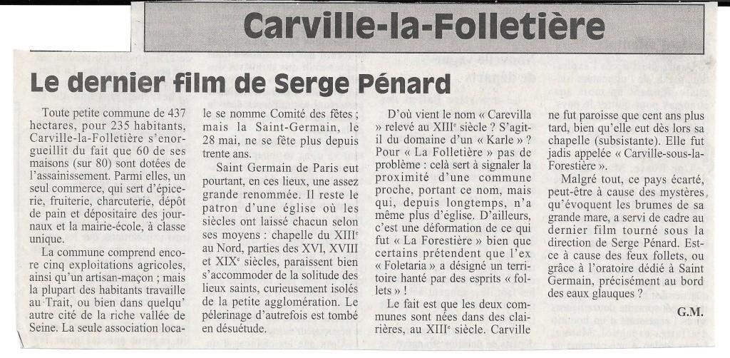 Histoire des communes - Carville-la-Folletière 113