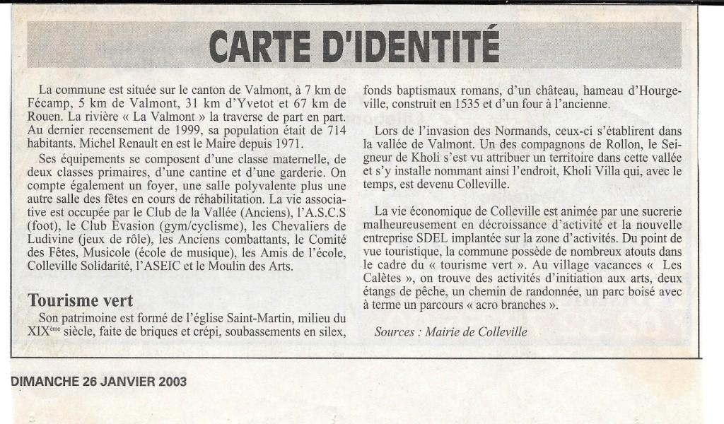 Histoire des communes - Colleville 115