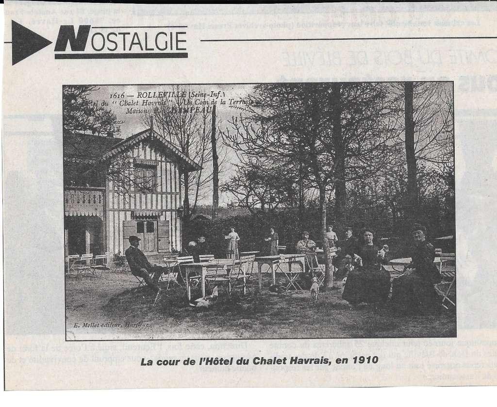 Histoire des communes - Rolleville 1210