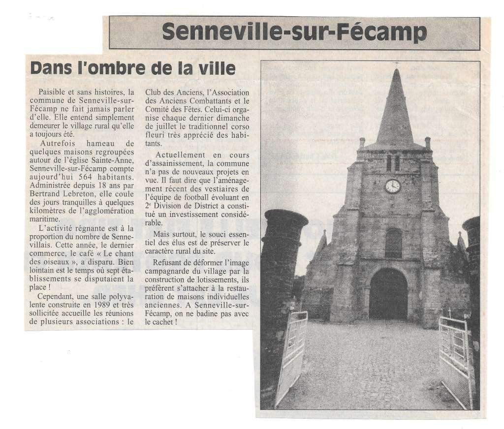 bolbec - Histoire des communes - Senneville-sur-Fécamp 139