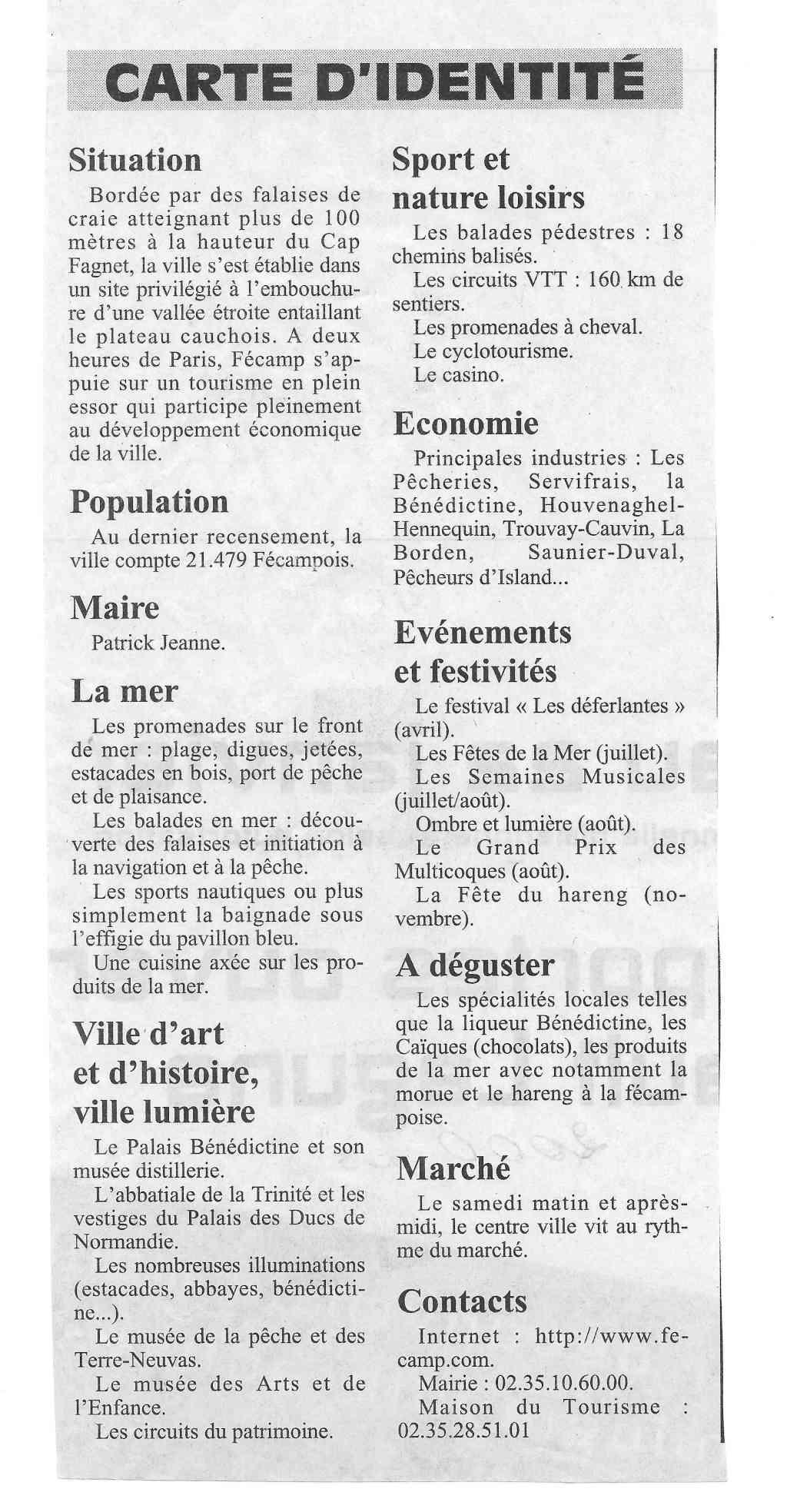 Histoire des communes - Fécamp 1511