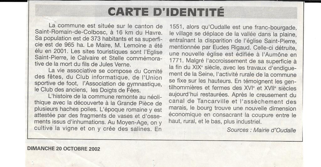 Histoire des communes - Oudalle 213