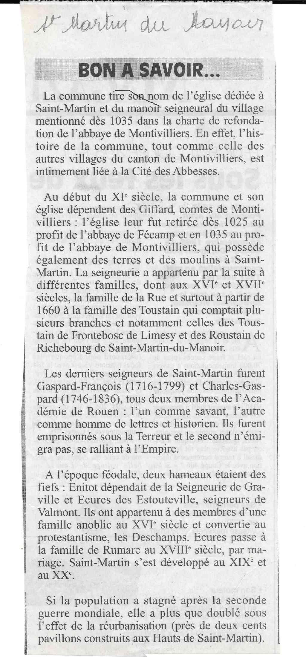 Histoire des communes - Saint-Martin-du-Manoir 238