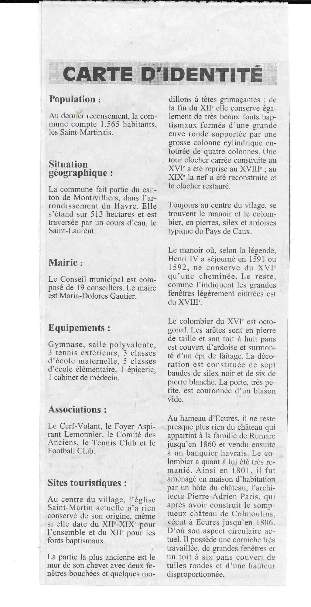 Histoire des communes - Saint-Martin-du-Manoir 334