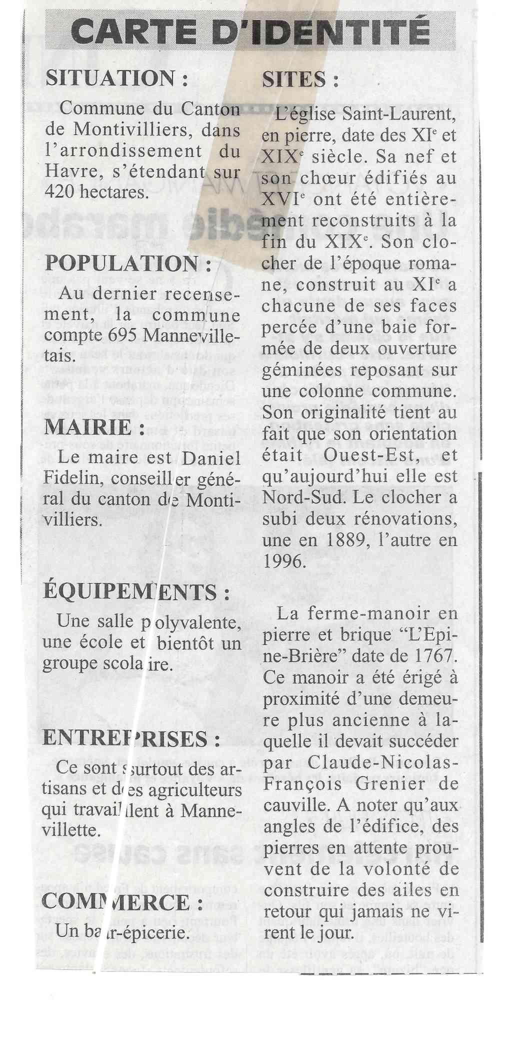 Histoire des communes - Mannevillette 414