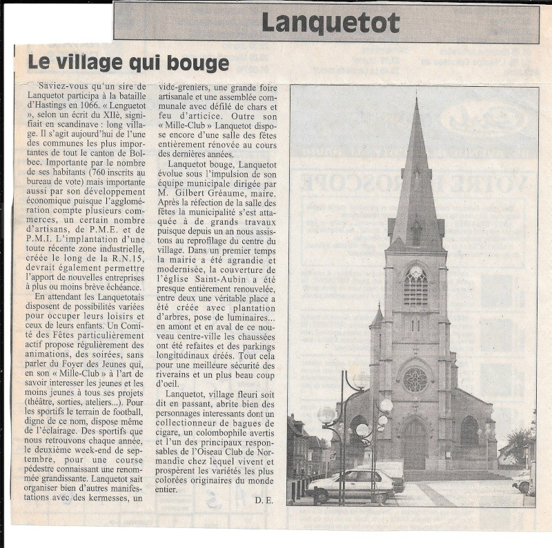 Histoire des communes - Lanquetot 416