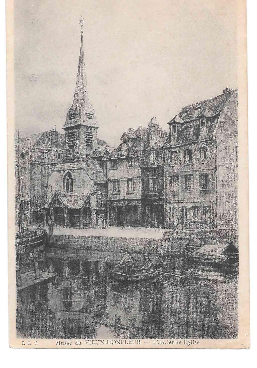 Racines à Honfleur 915