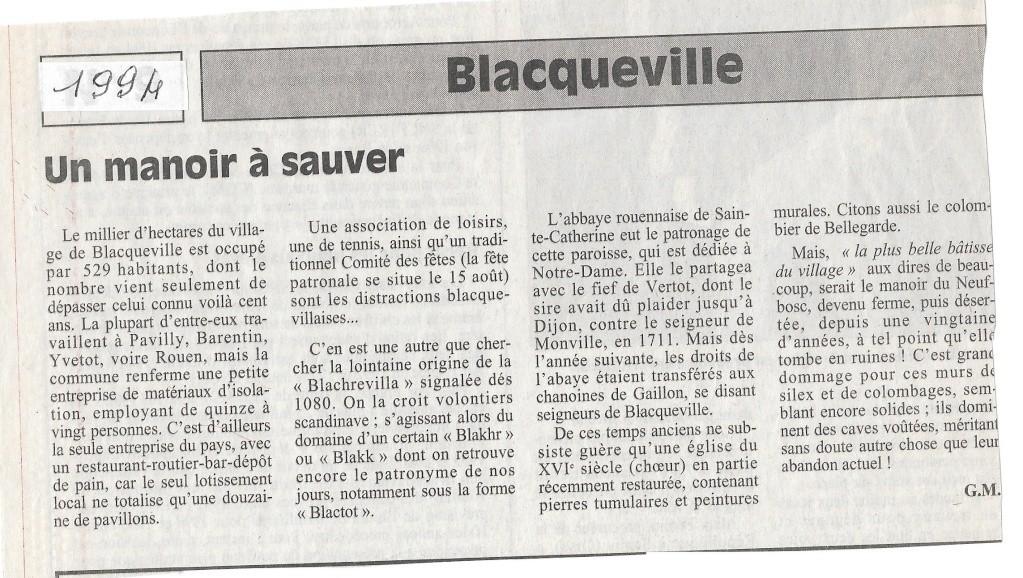 Histoire des communes - Blacqueville Blacqu10