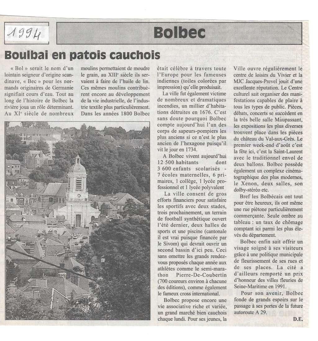 Saint - Histoire des communes - Bolbec Bolbec21