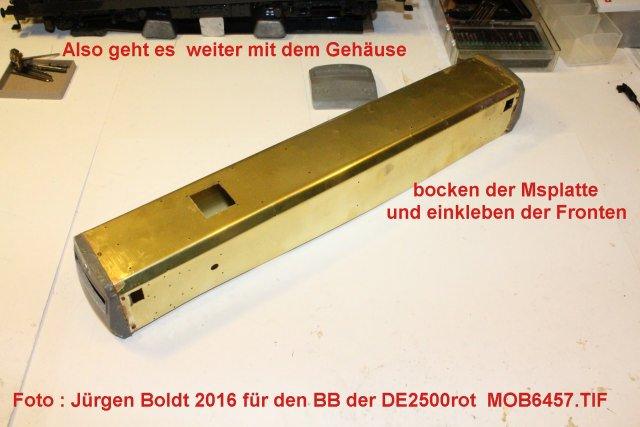 Das dritte Projekt 2014 - Die Henschel-BBC DE2500 Lok in 0 - Seite 3 Mob64511