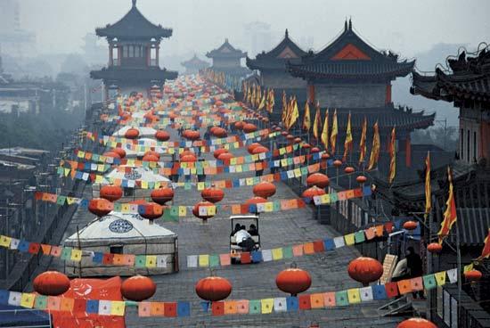 Par ordre alphabétique, des villes et des villages . Xian-c10