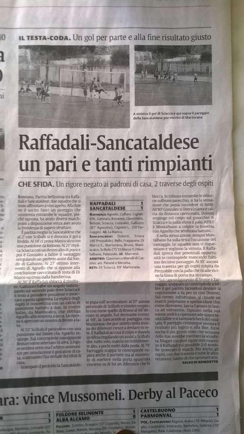 Campionato 25°giornata: raffadali - Sancataldese 1-1 Img-2011