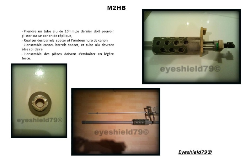 [eyes] Tuto fabriquer browning M2.50 M2HB 12,7 mm Diapos37