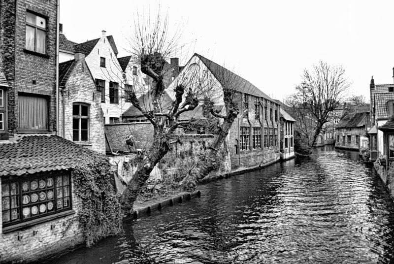 Bruges  en noir et blanc Dsc_0210