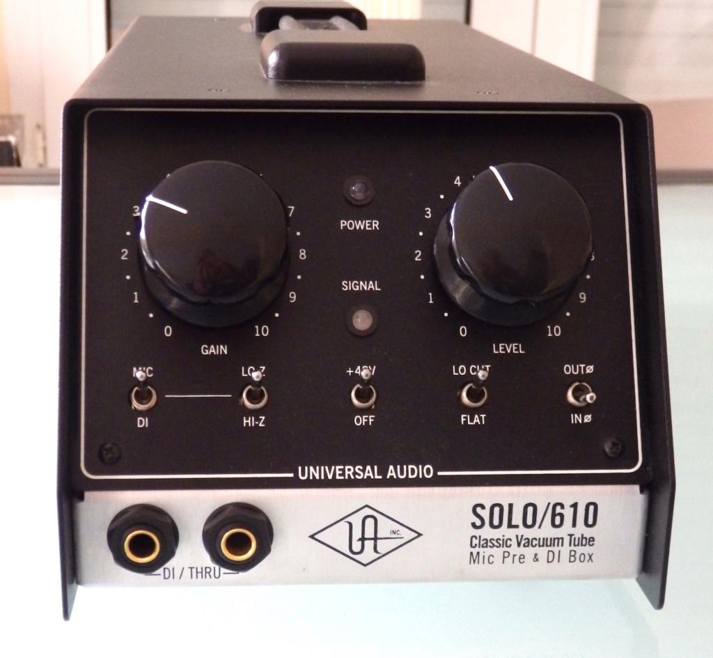 Universal Audio Solo / 610..... Vendu Pb180010