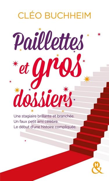 Paillettes et gros dossier de Cléo Buchheim  Paille10