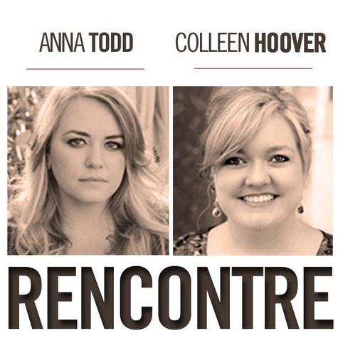 Colleen Hoover et Anna Todd en France au mois d'avril ! Rencon11