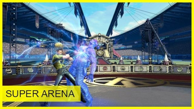 THE KING OF FIGHTERS XIV - Burn to the Fight Escena11