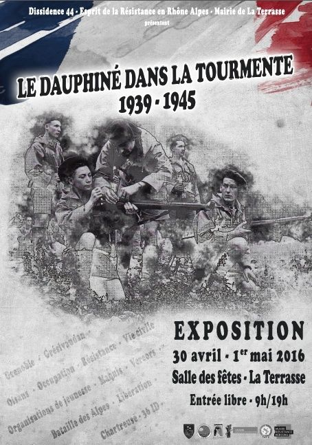 EXPO 39/45 en Dauphiné 29 avril et 1er mai La Terrasse (Isère) Image10