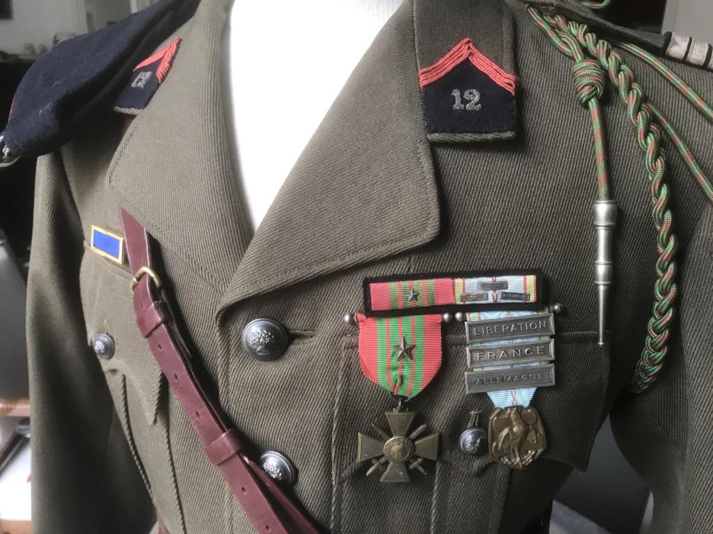 Vareuse Capitaine 12ème Cuirassier  D5d30d10