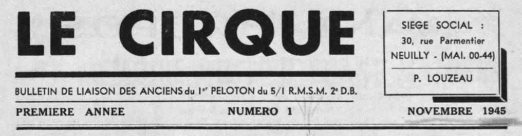 Le Cirque - Bulletin de liaisons des anciens du 5/1 R.M.S.M. Sans_t26