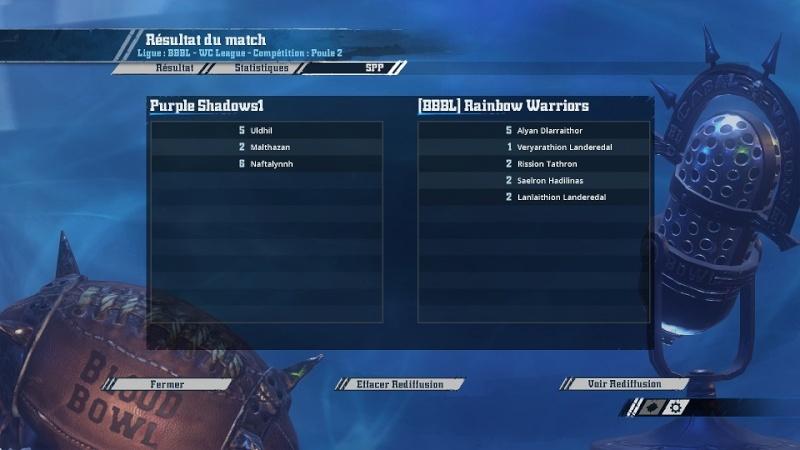 [Cifer] Purple Shadows1  2  -  0  (BBBL)Rainbow Warriors [Momienova] Match117