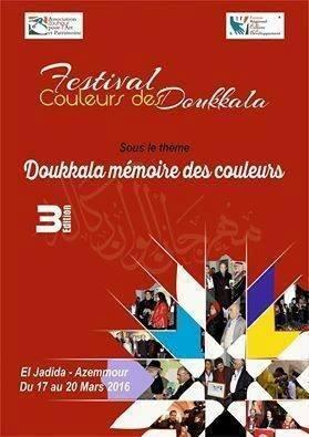 """17/03 au 20/03 - 3ème Festival """"Couleurs des Doukkala"""" Couleu10"""