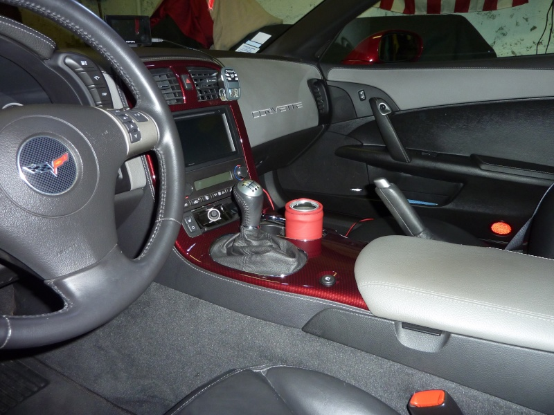 Evo de la C6 Z06 427 Limited Edition de Torch Red  P1040423