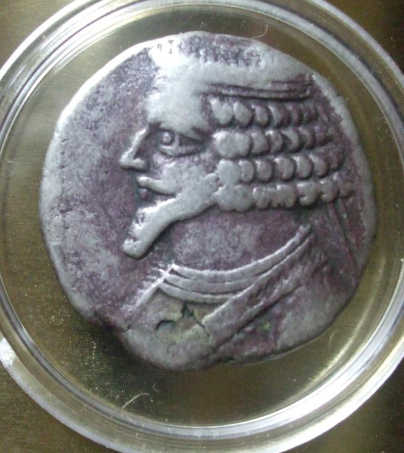 Ventes Héraclius Philippus 10 MONNAIES Parthe12