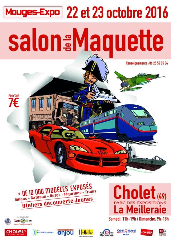 Samedi 22 & dimanche 23 Octobre 2016 • Cholet • Mauges-Expo Affich10