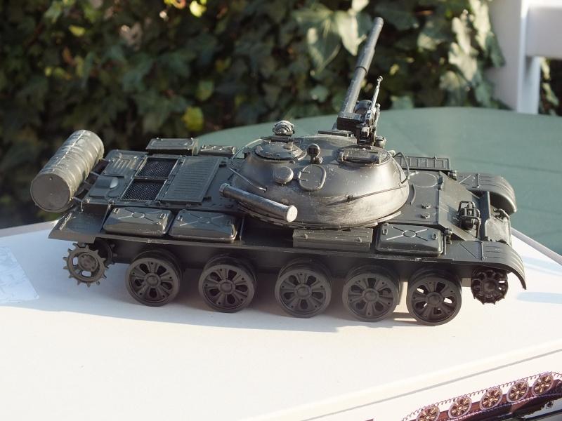 T62A (Tamiya 35108) - 1/35 - décoration Israélienne (Capture d'un tank syrien) montage TERMINÉ  Dscf8846