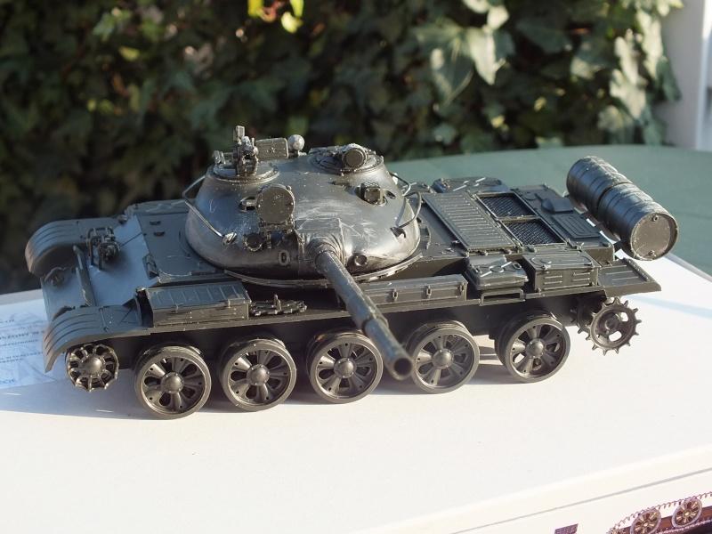 T62A (Tamiya 35108) - 1/35 - décoration Israélienne (Capture d'un tank syrien) montage TERMINÉ  Dscf8848