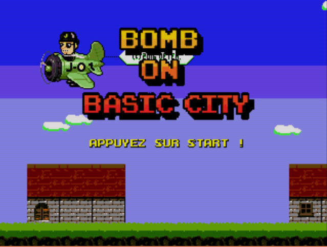 Bomb on Basic City - Megadrive - Trailer & Démo officielle !! 110