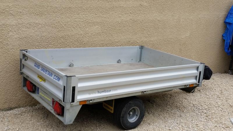[Vend Remorque Pro Humbaur 750 kg] 20150816