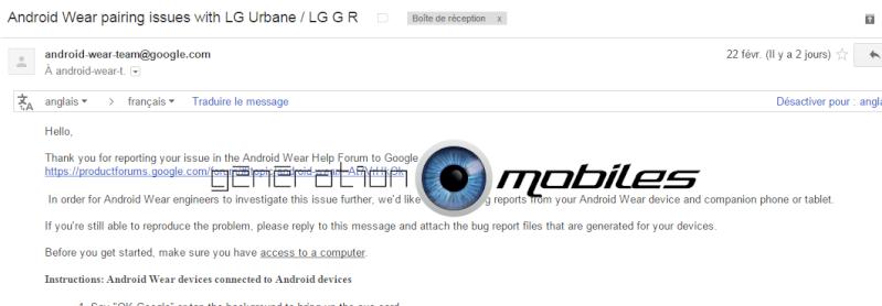 ANDROID WEAR : Bug de connexion important sur la mise à jour Marshmallow Mail_a10