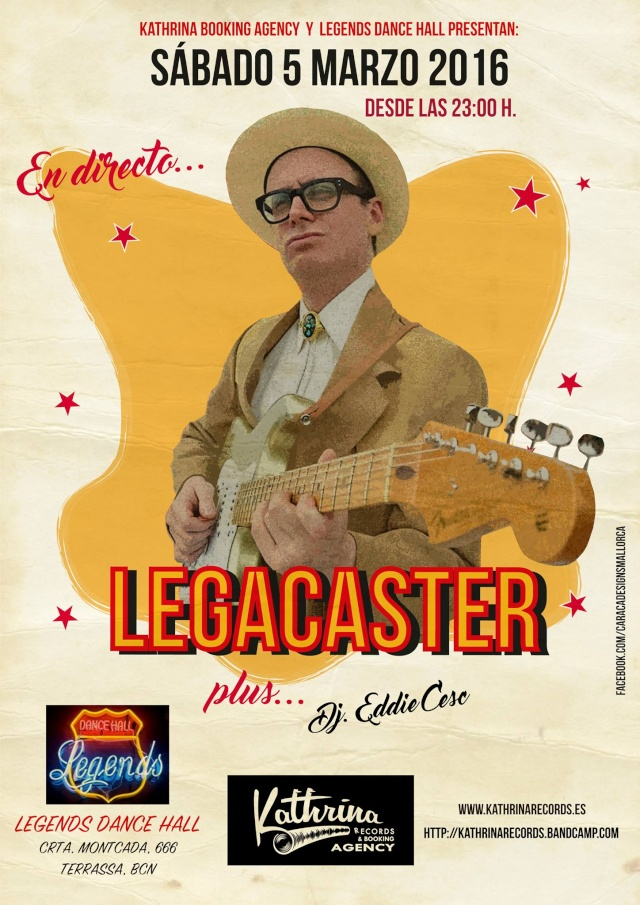 Legacaster Legaca10
