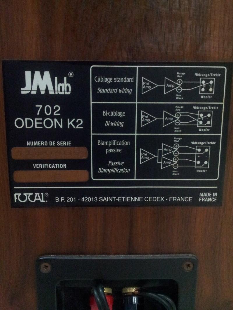 Focal JMLab 702 Odeon K2 limited Execution FRANCE made Floorstanding Speaker (used) 20160228