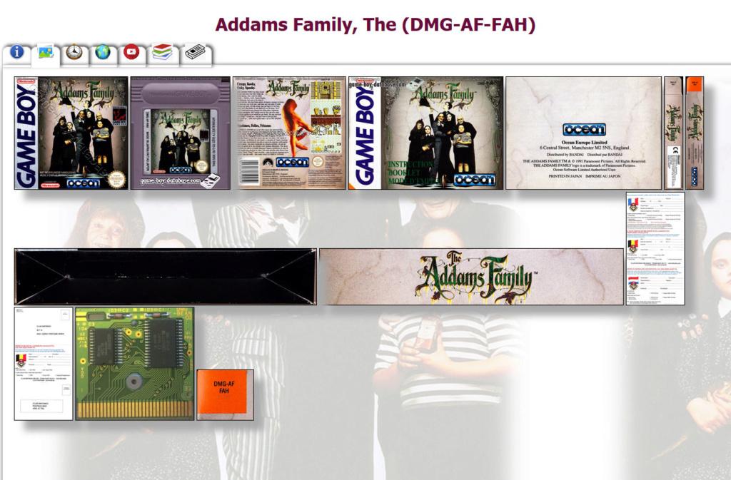 Gameboy database - Réouverture 0310