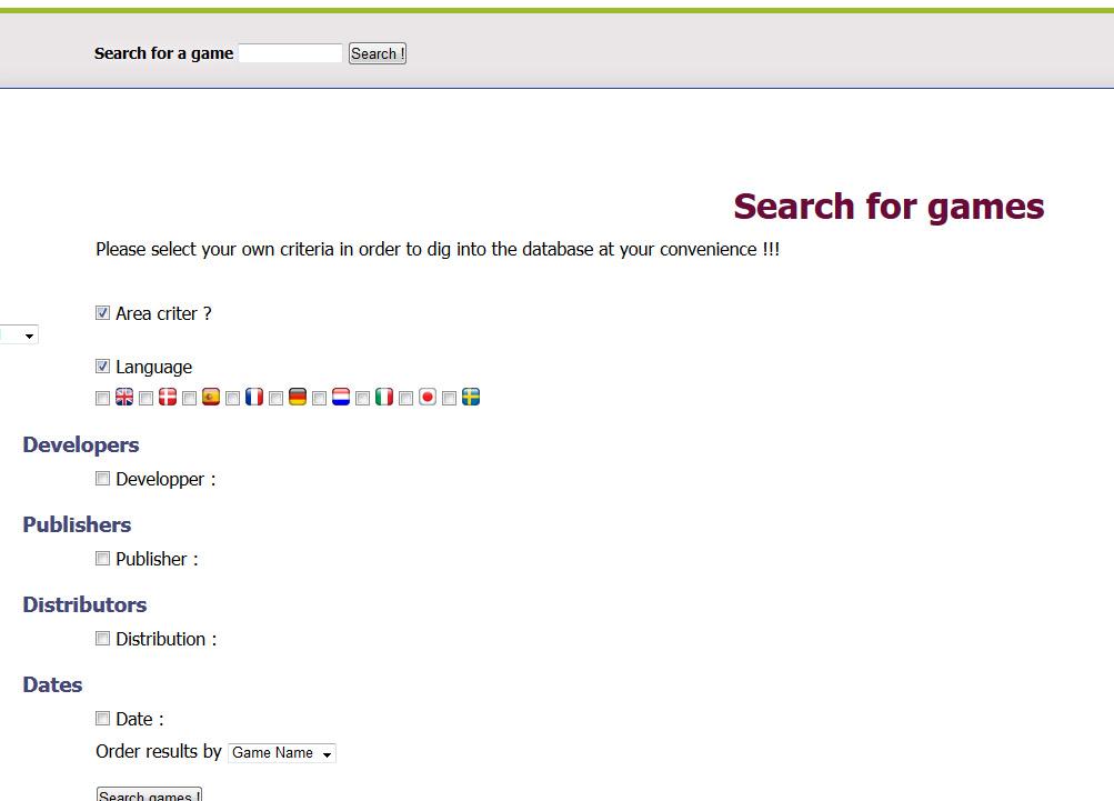 Gameboy database - Réouverture 1110