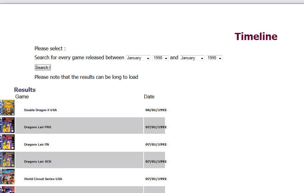 Gameboy database - Réouverture 1510
